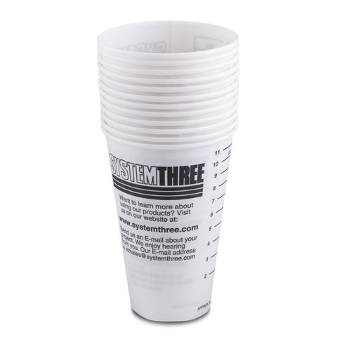 Graduated Paper Cups