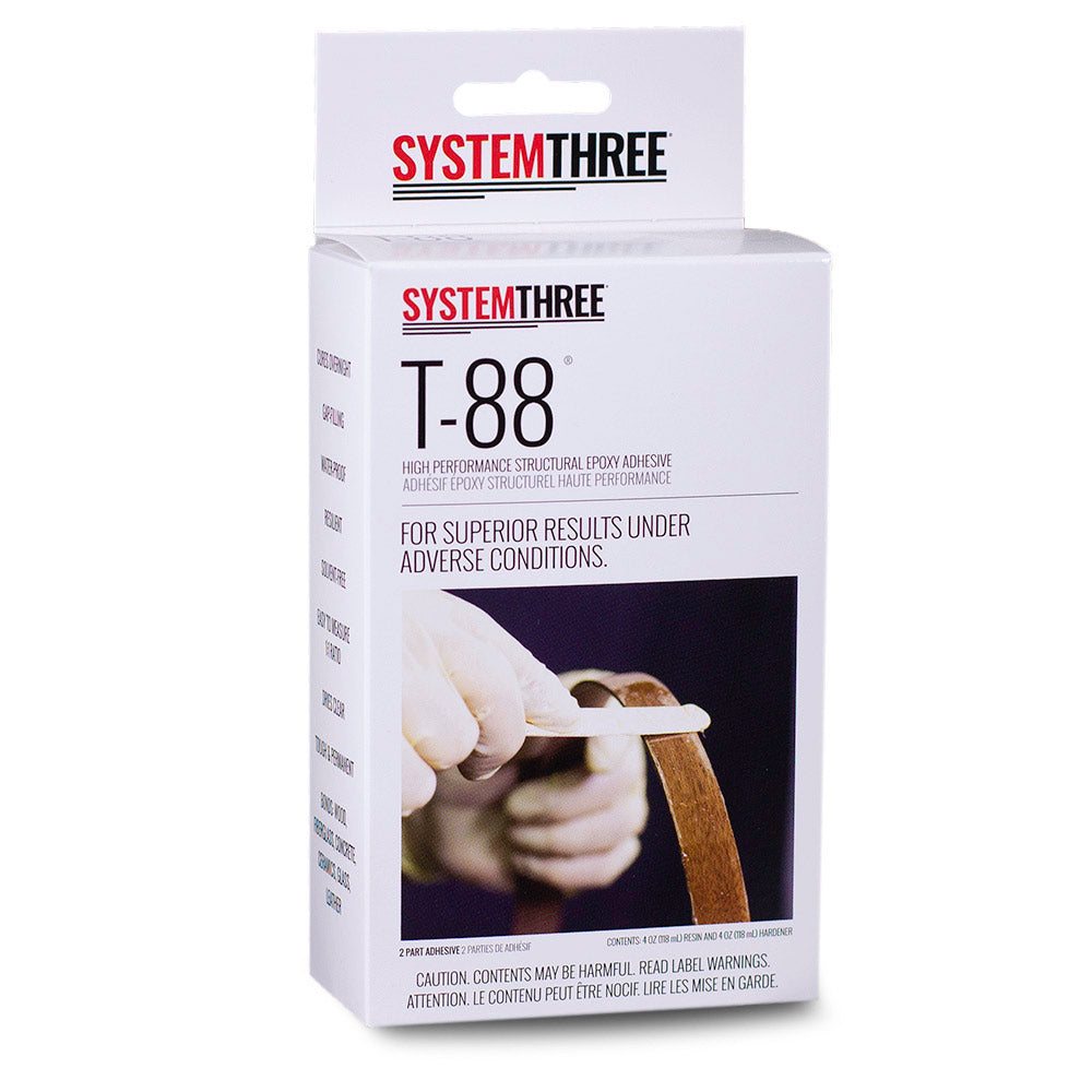 T-88 | Structural Epoxy Adhesive – System Three Resins