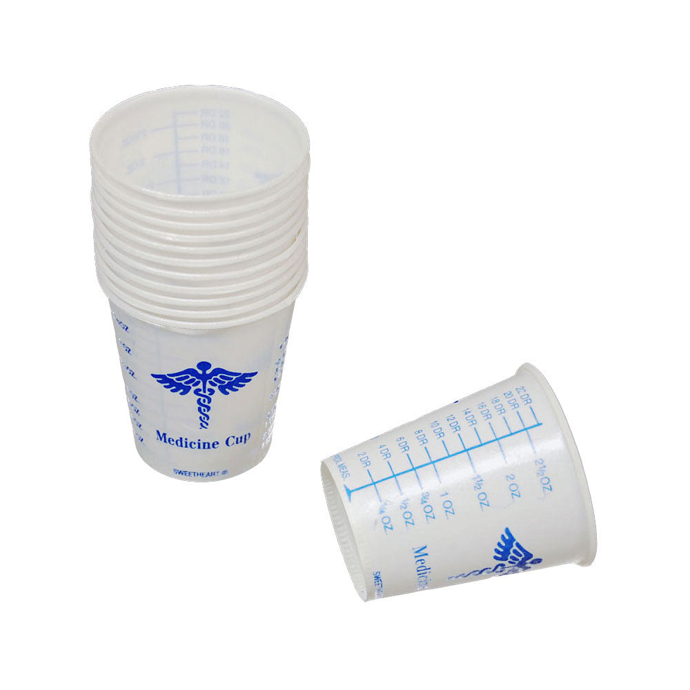 Graduated Paper Cups System Three Resins