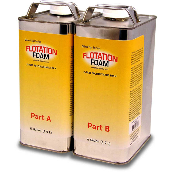 Floatation Foam Polyurethane Foam System Three Resins