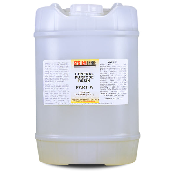 General Purpose Epoxy Resin System Three Resins