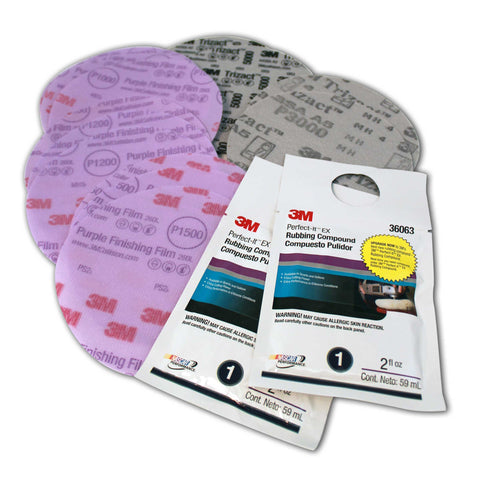 "Mirrorcoat, Repair and Restore Kit - 5"" Discs"