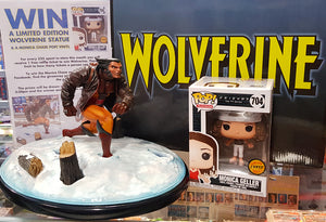 Win a Wolverine Statue & a Monica Chase Pop!