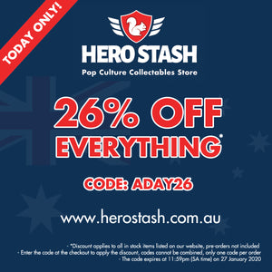 Australia Day Discount Code - 26% Off Everything!