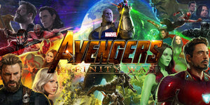 Avengers: Infinity Wars stock in store on Saturday!