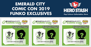 Emerald City Comic Con 2019 Funko Exclusives