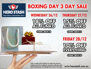 Boxing Day 3 Day Sale