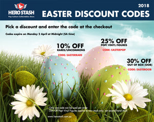 EASTER 2018 DISCOUNT CODES