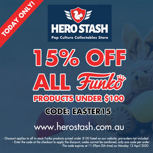 15% Off all Funko Products Priced Under $100 - Today Only