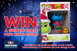 WIN A GRINCH CHASE POP FOR CHRISTMAS