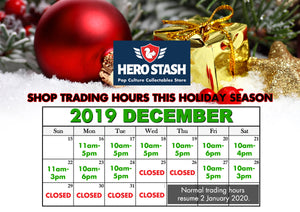 Holiday Trading Hours 2019