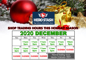 Store Trading Hours this Holiday Season 2020