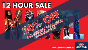 12 HOUR SALE! 20% OFF ALL MARVEL