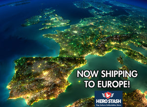 Now Shipping to Europe!