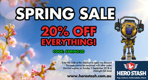 20% OFF EVERYTHING! SPRING SALE