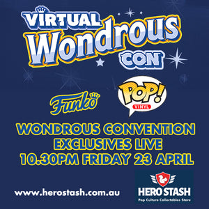 WonderCon 2021 Funko Shared Exclusives Live at Hero Stash