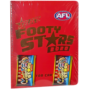 AFL Footy Stars Trading Cards - 2020 Collector Card Album Pack