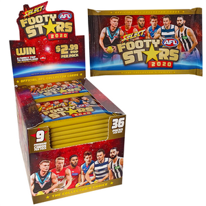 AFL Footy Stars Trading Cards - 2020 Booster Pack