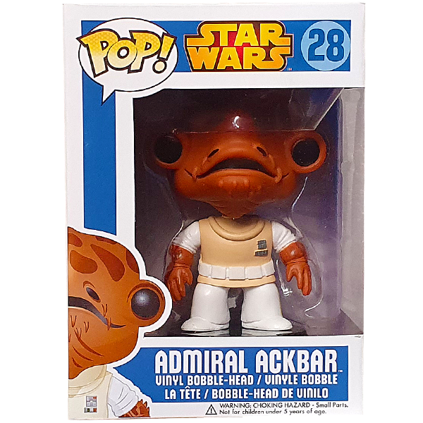 Star Wars - Admiral Ackbar Pop! Vinyl Figure
