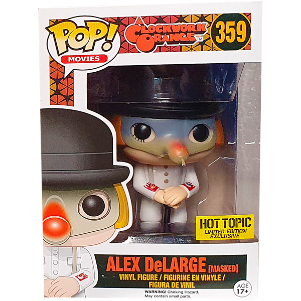 A Clockwork Orange - Alex DeLarge (Masked) Hot Topic Exclusive Pop! Vinyl Figure