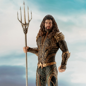 Justice League Movie - Aquaman 1:10 Scale ArtFX+ Statue