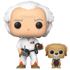 Back to the Future - Doc and Einstein US Exclusive Pop! Vinyl Figure