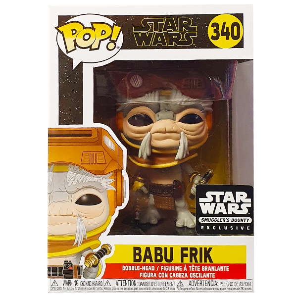 Star Wars The Rise of Skywalker - Babu Frik Smugglers Bounty Exclusive Pop! Vinyl Figure