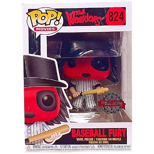 The Warriors - Baseball Fury (Red) Cyber Monday Exclusive Pop! Vinyl Figure