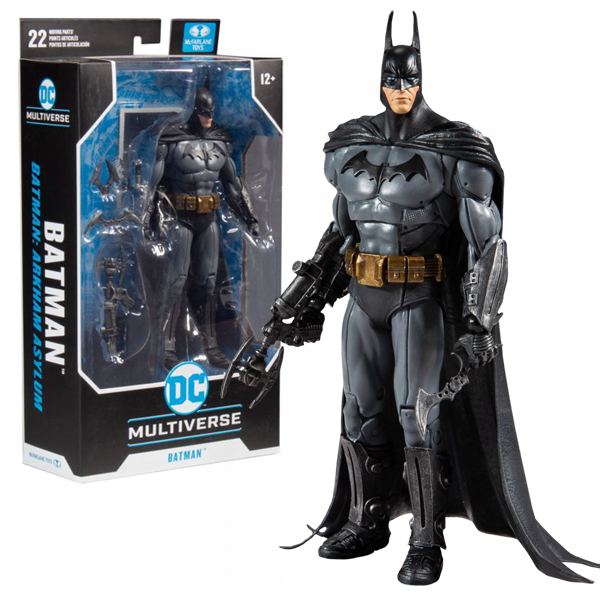 "DC Multiverse Batman Arkham Asylum - Batman 7"" Action Figure"
