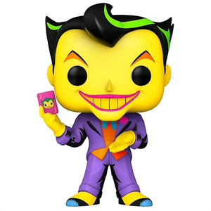 Batman The Animated Series - The Joker Blacklight US Exclusive Pop! Vinyl Figure