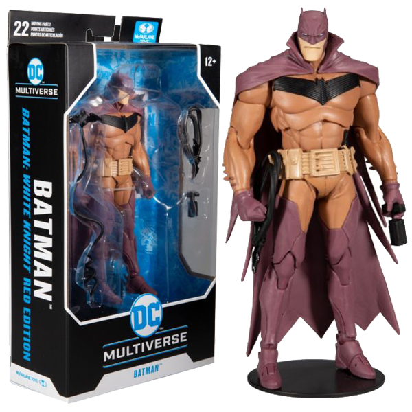 "Batman: White Knight - Batman Red Edition DC Multiverse 7"" Action Figure"