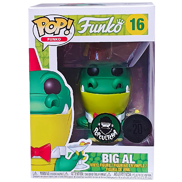 Funko Spastik Plastik - Big Al Exclusive Pop! Vinyl Figure