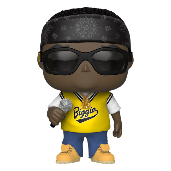 Notorious B.I.G. - Notorious B.I.G. with Jersey Pop! Vinyl Figure