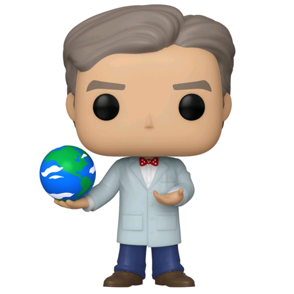 Icons - Bill Nye with Globe US Exclusive Pop! Vinyl Figure