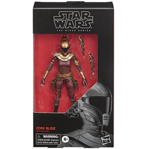 "Star Wars The Rise of Skywalker - Black Series 6"" Zorii Bliss Action Figure"
