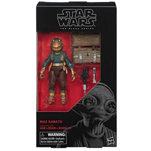"Star Wars The Force Awakens - Black Series 6"" Maz Kanata Action Figure"