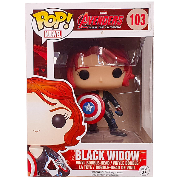 Avengers Age of Ultron - Black Widow with Shield Pop! Vinyl Figure