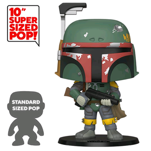 "Star Wars The Empire Strikes Back - Boba Fett US Exclusive 10"" Pop! Vinyl Figure"