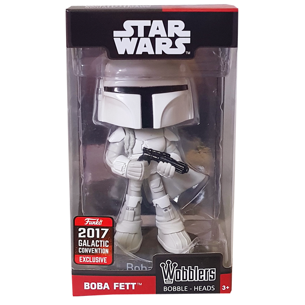 Star Wars - Boba Fett (Prototype) 2017 Galactic Convention Exclusive Wobbler