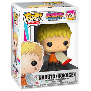 Boruto Naruto Next Generations - Naruto Hokage US Exclusive Pop! Vinyl Figure