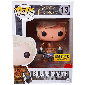 Game of Thrones - Brienne of Tarth (Bloody) Hot Topic Exclusive Pop! Vinyl Figure
