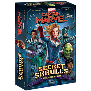 Captain Marvel - Secret Skrulls: A Hidden Identity Card Game