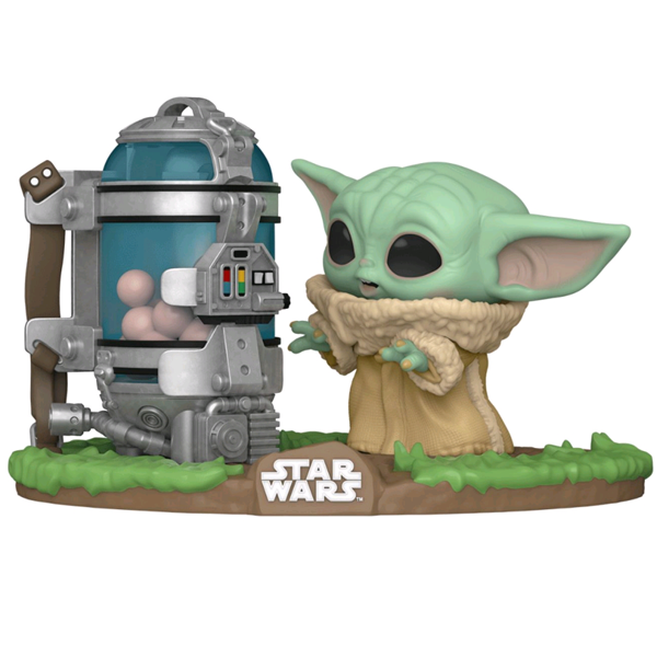 Star Wars The Mandalorian - The Child with Egg Canister Deluxe Pop! Vinyl Figure