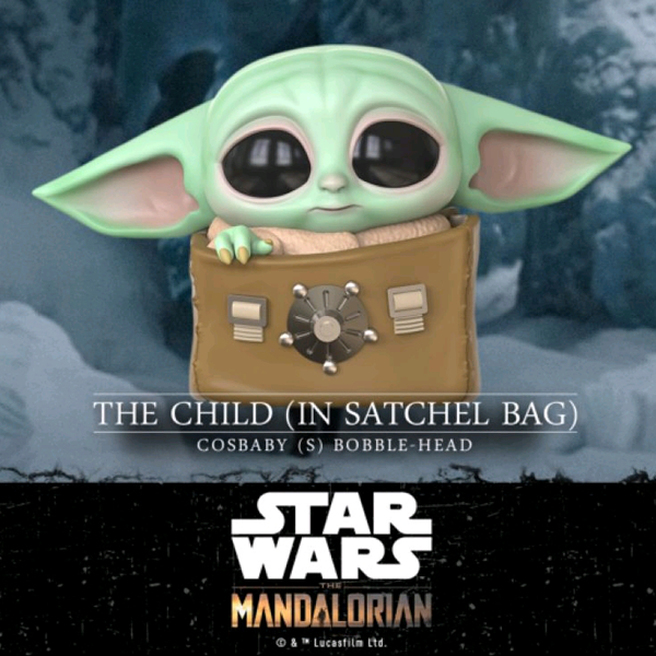 Star Wars The Mandalorian - The Child in Satchel Bag Cosbaby