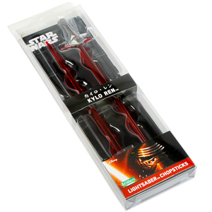 Star Wars Lightsaber Chopsticks - Kylo Ren version