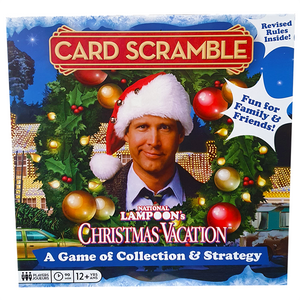National Lampoon's Christmas Vacation - Card Scramble Board Game