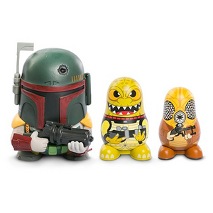 Star Wars - Chubby 3-pack Boba Fett