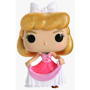 Cinderella - Cinderella in Pink Dress Diamond Glitter US Exclusive Pop! Vinyl Figure