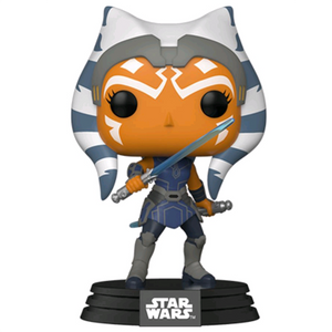 Star Wars Clone Wars - Ahsoka with Blue Lightsabers Pop! Vinyl Figure