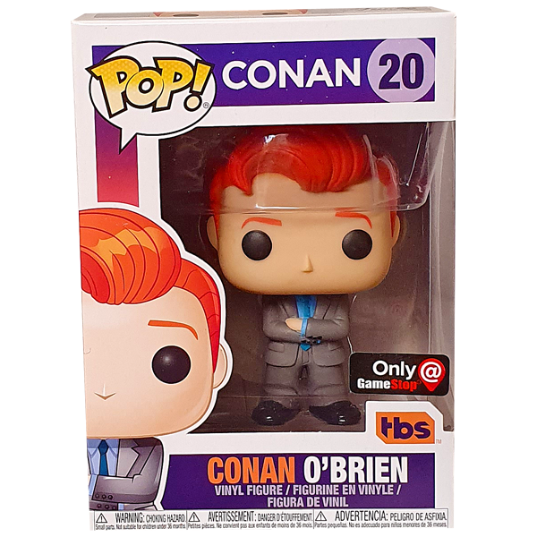 Conan - Conan O'Brien Gamestop Exclusive Pop! Vinyl Figure